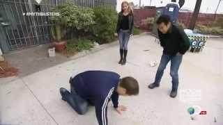 getlinkyoutube.com-Her Knee Boots Over Jeans, Kari Byron Holds It In