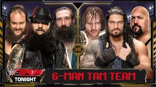getlinkyoutube.com-WWE Raw 2016 - Roman Reigns Dean Ambrose & Big Show Vs Wyatt Family (6 Man TagTeam) Match HD