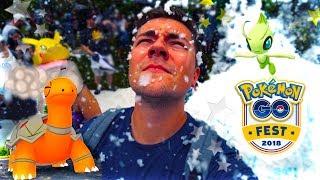 Pokemon Go Fest 2018 VLOG (CELEBI + Special Eggs + SHINY ????)