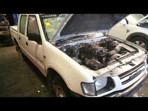 HOLDEN RODEO 2000 3.2 V6, 6VD1, DOHC, TF NOW DISMANTLING