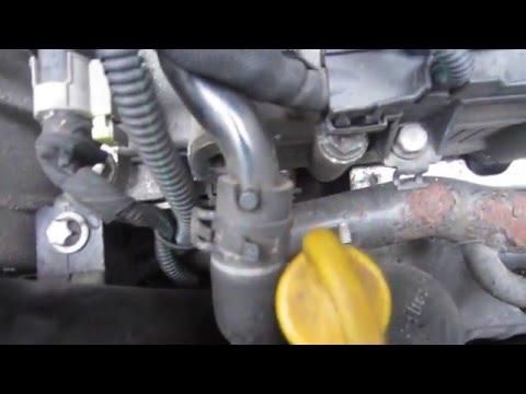 Где в Saab 9-3 находится сальник коленвала