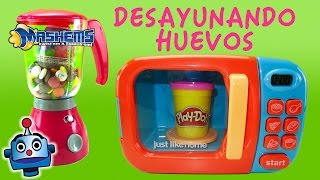 getlinkyoutube.com-MASHEMS LITE DESAYUNO CON HUEVOS SORPRESA My Little Pony, Shopkins, Iron Man, Patrulla Canina