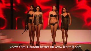 getlinkyoutube.com-Yami Gautam in Hot Lingerie & Beachwear Fashion show