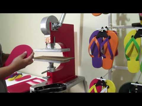 SANDALMAQ - Sua máquina de fazer chinelos.