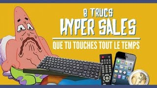 getlinkyoutube.com-8 trucs les plus sales que tu touches tout le temps (TopitoTV)