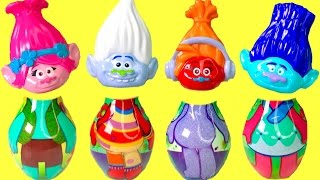 Dreamworks Trolls Movie Bowling Poppy & Branch Have Wrong Heads!