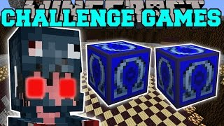 getlinkyoutube.com-Minecraft: MUTANT SQUID GIRL CHALLENGE GAMES - Lucky Block Mod - Modded Mini-Game
