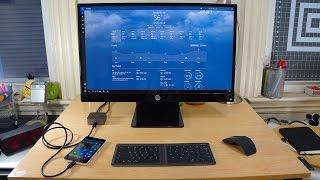 getlinkyoutube.com-Lumia 950 on Continuum: More than a Smartphone (First Impressions)