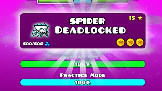 getlinkyoutube.com-DEADLOCKED CON LA NUEVA ARAÑA DE GEOMETRY DASH 2.1