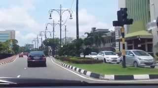 getlinkyoutube.com-Around Bandar Seri Begawan CBD area, Brunei Darussalam