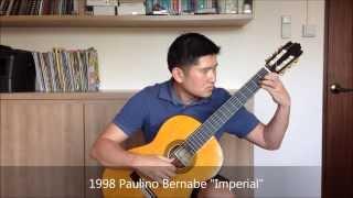 getlinkyoutube.com-Lagrima on 3 Different Guitars (Smallman-Bernabe-Contreras)