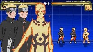 getlinkyoutube.com-Naruto The Last V2 (Normal, Sennin, Bijuu Mode)-Mi Edit Char Mugen