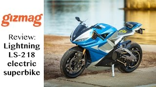 getlinkyoutube.com-Review: Lightning LS218 - the world's fastest superbike is electric