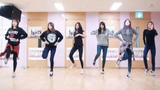 getlinkyoutube.com-Apink - LUV - mirrored dance practice video - 에이핑크 러브 안무 연습 영상