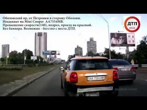 Киев Неадекват на Mini Cooper