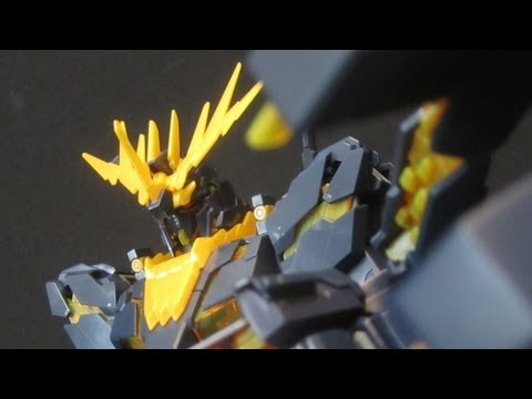 MG Banshee (Part 3: MS) Unicorn Gundam 02 UC OVA gunpla model review