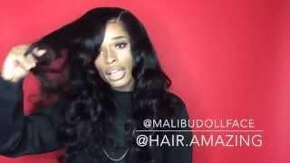 getlinkyoutube.com-Amazing Hair ( aliExpress ) Loose Weave Update