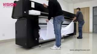 getlinkyoutube.com-Direct Printing on Fabric Textile Printer VS-2602TX with EPSON DX5 Print Head