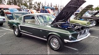 getlinkyoutube.com-Flawless!1968 Ford Mustang GT 428 Cobra Jet Concours Restored Fabulous Fords Forever Show 2014