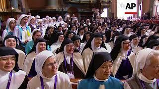 Francis urged nuns to dedicate their prayers to those who are