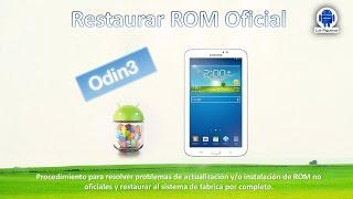 "getlinkyoutube.com-[Tutorial] ""Restaurar ROM Oficial"" - Samsung Galaxy Tab 3"""