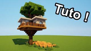 getlinkyoutube.com-MINECRAFT TUTO - Comment faire une cabane dans un arbre ?