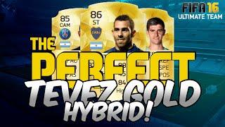 getlinkyoutube.com-FIFA 16 | THE PERFECT TEVEZ GOLD HYBRID TEAM for UNDER 150k! | Ultimate Team Squad Builder #19
