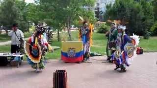 getlinkyoutube.com-Концерт эквадорских индейцев Sumac Kuyllur в Волгограде. 22.06.2014 часть 11/14