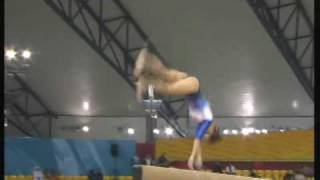 getlinkyoutube.com-Balance Beam Difficulty Gymnastics Montage