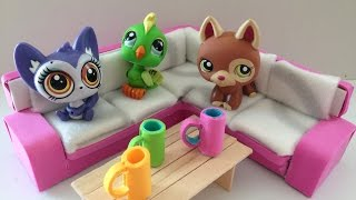 How to make a LPS couch/sofa