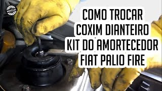 getlinkyoutube.com-Como Trocar o Coxim e o Kit do Amortecedor Dianteiro do Fiat Palio Fire