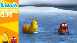 getlinkyoutube.com-[Official] Winter - Fun Clips from Animation LARVA