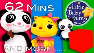 getlinkyoutube.com-Square Song | Plus Lots More Nursery Rhymes | 62 Minutes Compilation from LittleBabyBum!