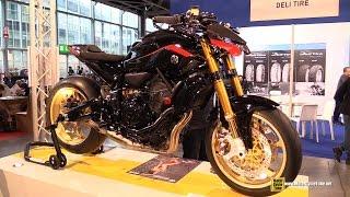 getlinkyoutube.com-2015 Yamaha MT-07 Gilles Tooling Customized - Walkaround - 2014 EICMA Milano Motocycle Exhibition