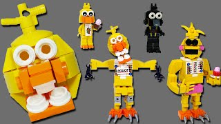 getlinkyoutube.com-How to Build LEGO Chica (Toy, Withered & Phantom) | LEGO FNAF