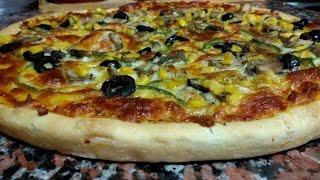 getlinkyoutube.com-طريقة عمل عجينة البيتزا الطليانية الايطالية الأصلية