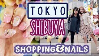 getlinkyoutube.com-Girl's Day in TOKYO   Shopping in SHIBUYA, Nails & Haul   ft. Sunnydahye