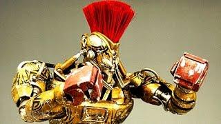 getlinkyoutube.com-REAL STEEL WRB The Gold Blooded Killer - Midas VS All Bosses - Champions (Живая сталь)
