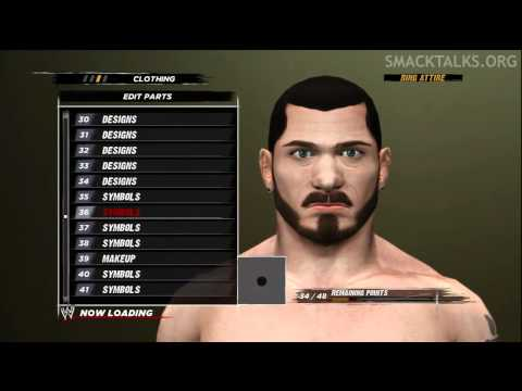 WWE '12 Austin Aries CAW Formula