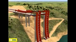 Alconetar Bridge - Construction Process