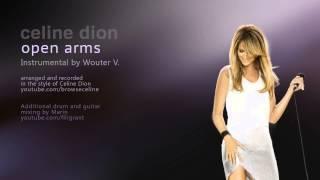 CELINE DION - OPEN ARMS INSTRUMENTAL HD BY WOUTERV width=