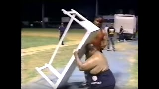 getlinkyoutube.com-WWC: Abdullah The Butcher vs. Carlos Colón (1991)