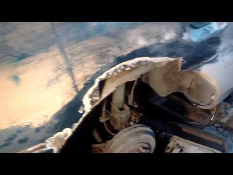 Восстановление задних арок и стойки Mazda 323 P BA