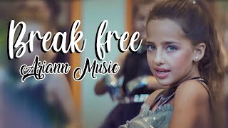 getlinkyoutube.com-Ariana Grande - Break Free ft Zedd - (8 years old) ARIANN & 5DB