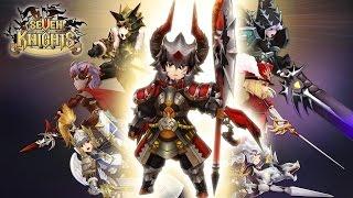 getlinkyoutube.com-Seven Knights (Global) - Closed beta - Android on PC (Bluestacks) - F2P - Mobile