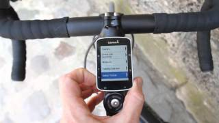 getlinkyoutube.com-Hands-on walk-through of Garmin Edge 520