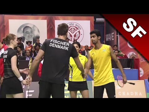 Syed Modi International Badminton C'ships 2017 | SF | Fis/Ped vs Red/Pon [HD]