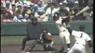 getlinkyoutube.com-1990年選抜高校野球 鹿児島実業vs秋田経法大付