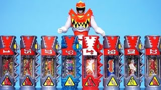 getlinkyoutube.com-파워레인저 다이노포스 레드 다이노셀 장난감 Power Rangers Dino Charge Kyoryuger DinoCell Carbot Tobot toys