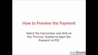 Averiware Payment